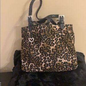 Leopard Brighton bag